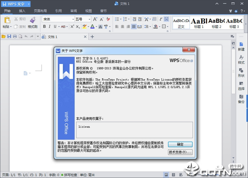 wps office2013专业版